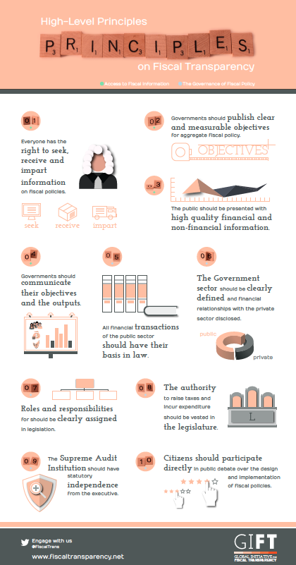 10 Principios de Alto Nivel sobre Transparencia Financiera. GIFT