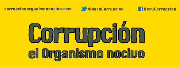Portada Cartel Documental Corrupción