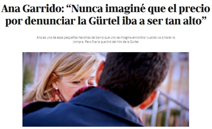 Entrevista Confidencial Ana Garrido